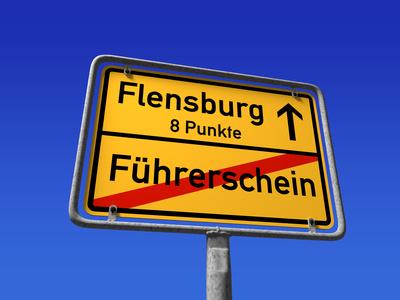 Wie viele Punkte finde ich in Flensburg